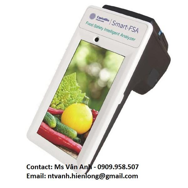 Máy đo an toàn thực phẩm
